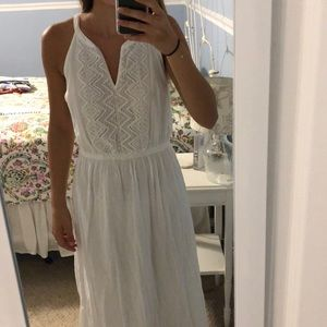 Old navy white maxi dress